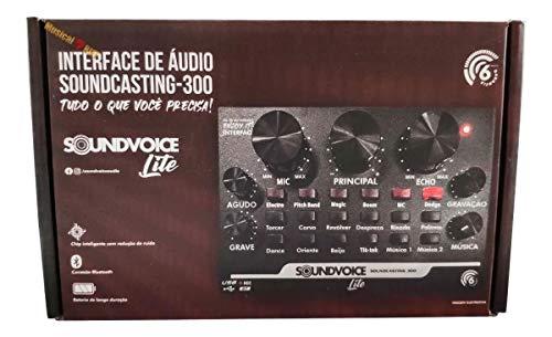 INTERFACE DE ÁUDIO USB SOUNDVOICE LITE SOUNDCASTING 300