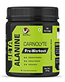Advance MuscleMass Beta Alanine Amino acid supplement raw powder (Pre workout) 200g 0.44 Lb (86 Servings)