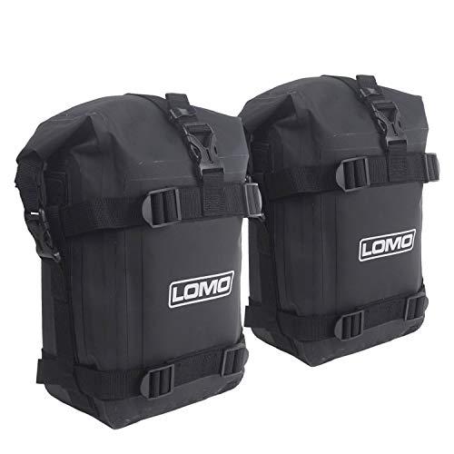 Lomo Motorrad Crash Bar Dry Bag - 1 Paar