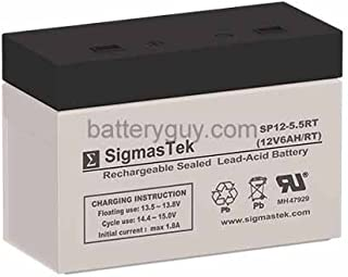 HC1217W 12 Volt 6 AmpH SLA Replacement Battery with FP Terminal
