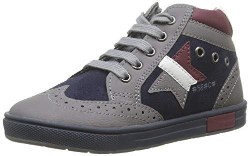 Chicco Polacchino Cico, Desert boots Garçon, Gris (Grigio 950), 29 EU
