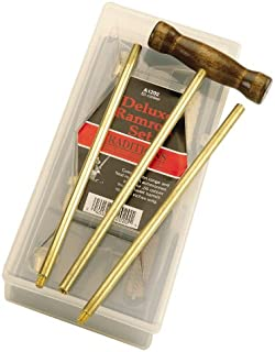 Traditions Performance Firearms Muzzleloader Deluxe Brass Ramrod Set .50 Caliber (8 Pieces)