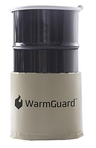WarmGuard WG15 Insulated Drum Band Heater - Barrel Heater,...