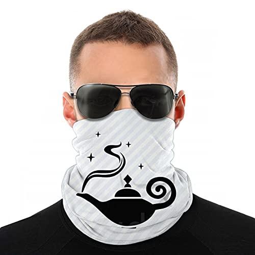 Aladdin'S Lamp Ciclismo bufanda UV protección contra el polvo cara cubierta transpirable elástico cuello Polaina