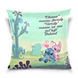 N / A A Variety of Linen Throw Pillow Case Protector with Zipper Standard Pillow Case Decorative Pillow Covers for Couch,16x16 Inches (Stitch#2)
