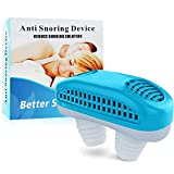 Joruby 2021 Version Snore Stopper - Snoring Solution, Anti Snoring Device Sleep Aids for Men and Women (Blue)