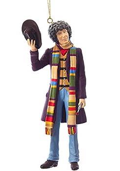 Kurt Adler 5  Doctor Who 4th Doctor Tom Baker Ornament Standard