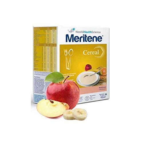 Meritene cereals with multi-fruit, 20 portions.