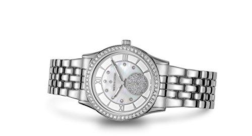 Timothy Stone Collection Huston - Reloj Mujer de cuartzo, Color Plata