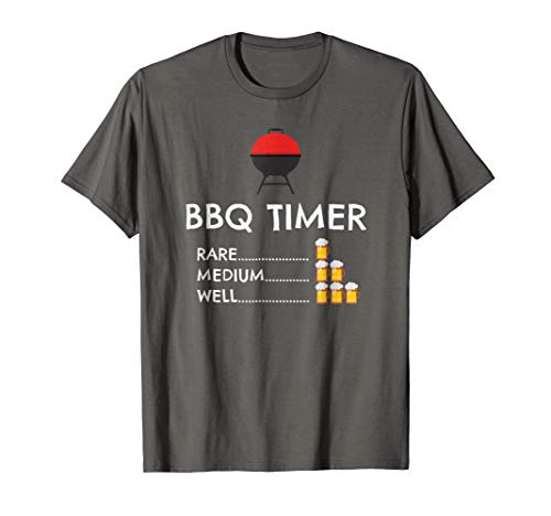 BBQ Timer Barbecue Shirt Funny Grill Grilling Gift
