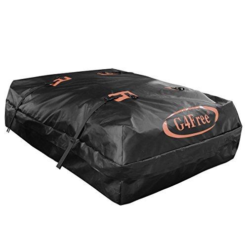 G4Free 15.5 Cubic Feet Waterproof Car Top Carrier