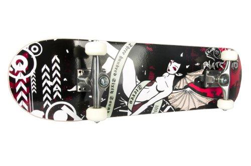FA Sports Skateboard Skateboyz, Schwarz/Mehrfarbig, 78,7x20 cm, 413