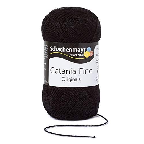 Schachenmayr Catania Fine 9807300-01001 fine Handstrickgarn, Häkelgarn, Baumwolle