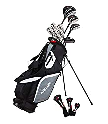 professional Topline M5 Men's Golf Clubs for the Right Hand include Drivers, Woods, Hybrids, 5, 6, 7, 8, 9,….