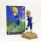 HMMOZ Dragon Ball Z Majin Vegeta PVC Figuras de acción Juguete 130 mm Super Saiyan Anime Dragon Ball Super Vegeta DBZ Figurine Toys Animado Figura (Color : with Retail Box)