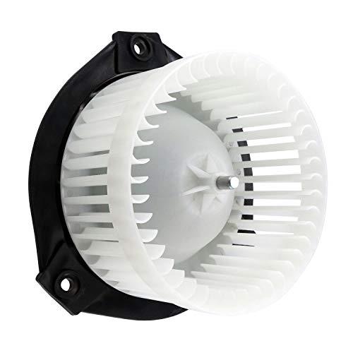HVAC Blower Motor Assembly 700109 52498916 89018747 Heater Blower Motor with Fan Cage for Buick Rainier/Chevrolet Trailblazer Trailblazer EXT/GMC Envoy XL XUV/Oldsmobile Bravada/Saab 9-7x