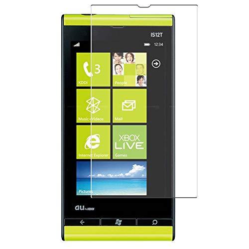 Vaxson 4 Unidades Protector de Pantalla, compatible con Fujitsu Toshiba Windows Phone IS12T au [No Vidrio Templado] TPU Película Protectora