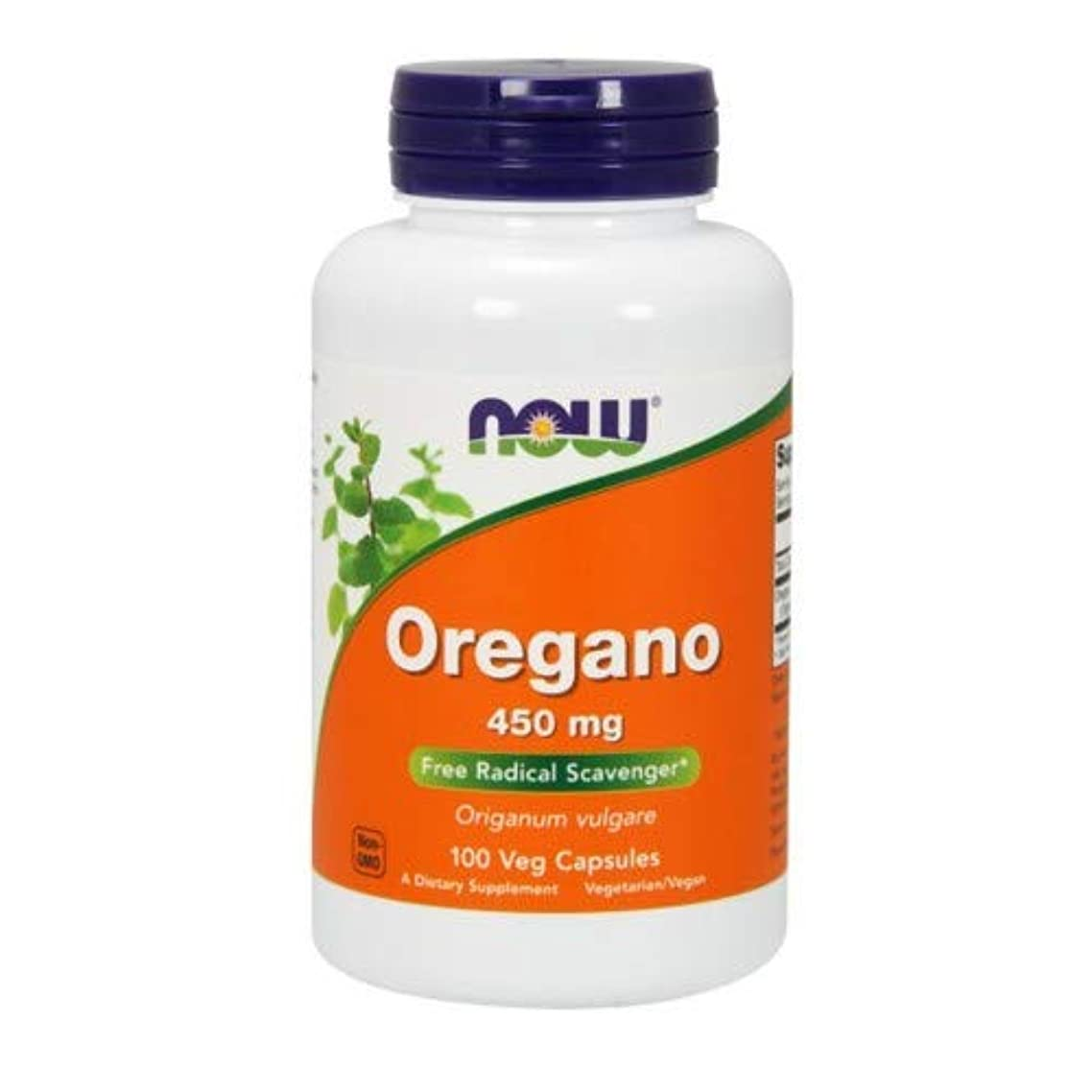 Oregano 450 mg 100 Capsules (Pack of 2)