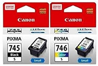 Canon Ink Cartridge Black and Colour (PG-745s & CL-746s)