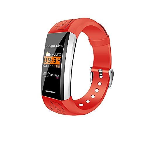 PFMY.DG Rastreador de Fitness, Pulsera Inteligente Impermeable IP67 con presión Arterial y monitoreado Tiempo Previsión SmartWatch