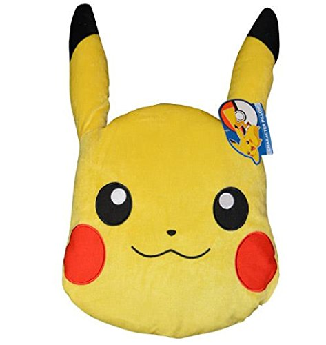 Nintendo Pokémon Pikachu Big Character Head Pillow