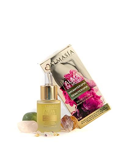 Aceite Esencial para Mujer - Aromaterapia y Gemoterapia - Ayuda a Aumentar tu Sensualidad - 15 ml - Ingredientes Naturales y Ecológicos Bio - No Testado en Animales - Almasía