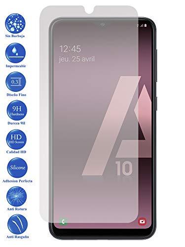 Todotumovil Protector de Pantalla Samsung Galaxy A10 2019 de Cristal Templado Vidrio 9H para movil