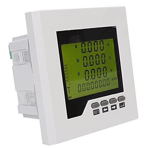 Medidor de energía eléctrica, con transmisión de potencia de plástico Medición de potencia de protección contra sobrecarga