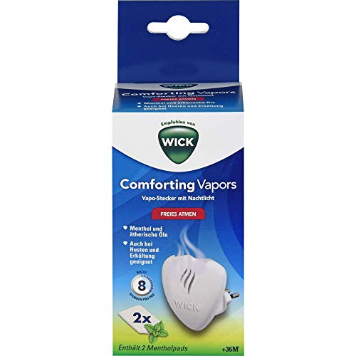 Wick Comforting Vapors Vapo Stecker + 5 Pads, 1 Set