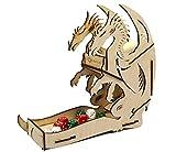 e-Raptor ERA19039 - Juego de Mesa de Madera (Grande), diseño de dragón
