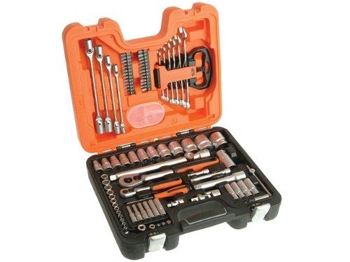 Advanced Bahco herramientas S910 juego de llaves de vaso 91 piezas 1/4 y 1/2in disco duro - Min 3 años Cleva garantía