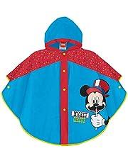 Mickey Mouse Impermeable Eva Chubasquero, Unisex niños, Multicolor, 3/6 años