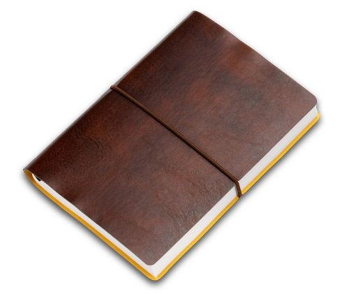 Ciak PITTI Tageskalender 12x17cm - Braun