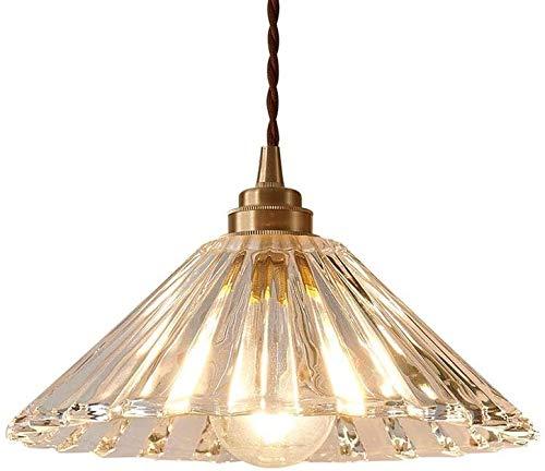 ZFB8B Lámparas de Pared E27 Luz Colgante de Vidrio de Loft Nordic, 1-Light Colgante Colgante lámpara Ajustable Colgante escono Cocina Comedor café decoración Accesorio S8YU18