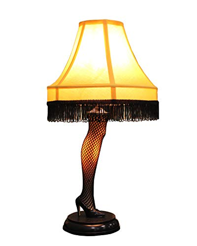 A Christmas Story 20 inch Leg Lamp Prop Replica by NECA | Holiday Gift |Desk Lamp | Same lamp used in movie