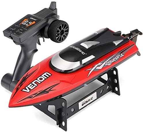 2.4G Wireless Remote Control Boat Boat & Lake Rc Boat Summer Party Giocattoli per bambini A Sostellabile, 25 km / h Racing ad alta velocità