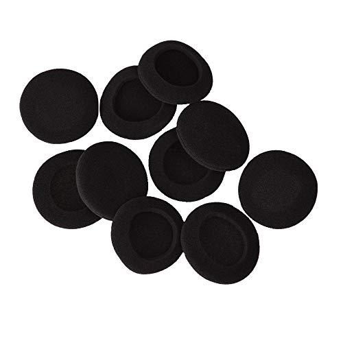 2 pares de almohadillas de espuma para auriculares