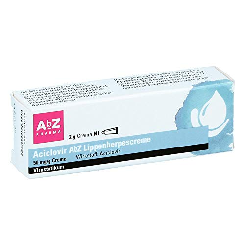 Aciclovir AbZ Lippenherpescreme, 2 g