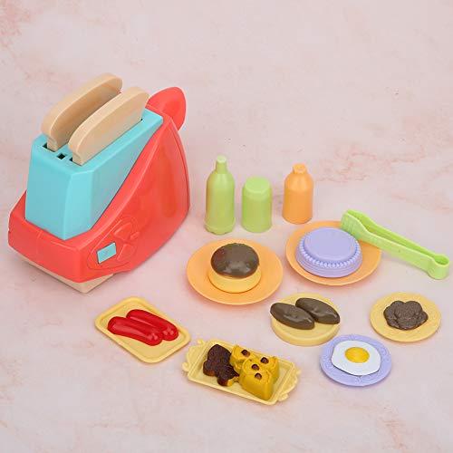 Juguete tostador infantil, juguete de rol, mini para jugar(toaster)