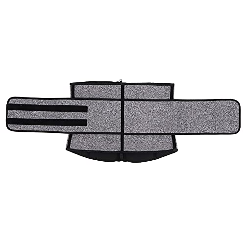 Práctico cinturón Deportivo para Adelgazar, Faja Moldeadora de Cuerpo, cinturón de Entrenamiento para Mujeres y Hombres, para Uso doméstico, para Cintura Recta para lumbares rectificados(XXXL)