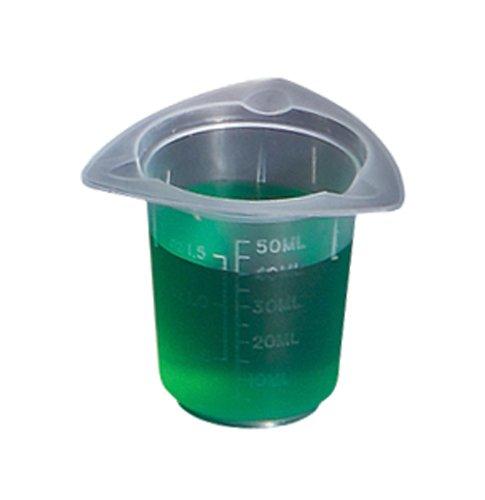 Selling rankings United Scientific BTC0050 Polypropylene 50ml Tri-Corner Rapid rise Beaker