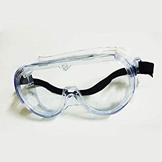 1x Safety Goggles Eye Protection Anti Fog Clear Vent Protective Glasses Lab hymc