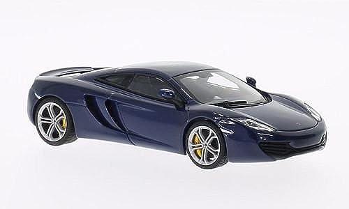 McLaren MP4-12C, met.-Blau , 2011, Model Car, Ready-made, AutoArt 1 43 by AUTOart