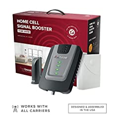 BEST VALUE IN A RESIDENTIAL BOOSTER — The Home Room offers improved cellular reception indoors; resulting in fewer dropped calls, better voice quality, faster internet speeds, and more within its coverage area IDEAL FOR HOME OFFICE OR APARTMENT — For...