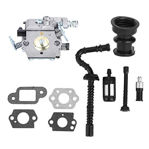 Filtro de combustible Kit de tubería de entrada Juego de carburador Reemplazado directamente Filtro de aire de accesorio de motosierra adecuado para MS210230250
