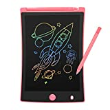 ORSEN Colorful 8.5 Inch LCD Writing Tablet for Kids, Electronic Sketch Drawing Pad Doodle Board, Toddler Travel Learning Educational Toys Activity Games Birthday Gifts for 2 4 5 6 7 8 Year Old Girls