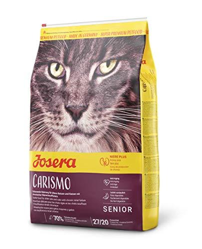 Josera Carismo Kattenvoer, voor Oudere Katten of Katten met Chronische Nierbehandeling, Doogvoer, 10 kg Zak
