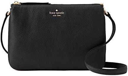 Kate Spade New York Triple Gusset Crossbody Black product image