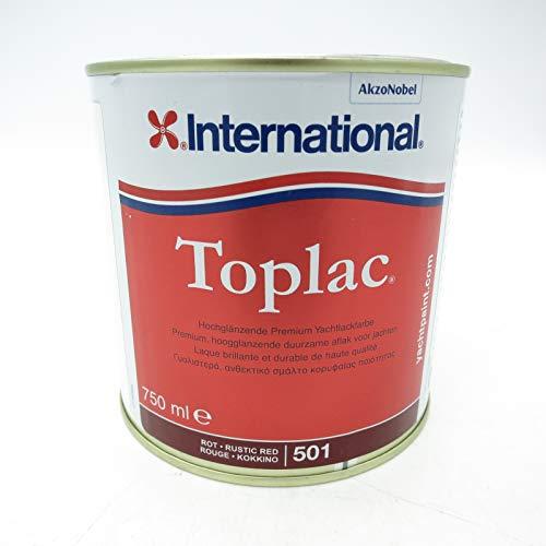 International Toplac Bootslack - rot 501, 750ml