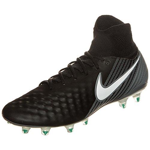 Nike Magista Orden II Fg Scarpe da calcio da uomo, 42_EU, (nero/bianco), 39 EU